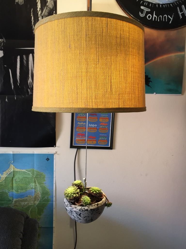 Planter Lamp Second Look